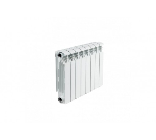 Биметаллический радиатор Rifar Alp 500 (8 секций, боковое подключение)