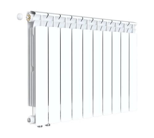 Биметаллический радиатор Rifar Alp Ventil 500 (10 секций, нижнее левое подключение)