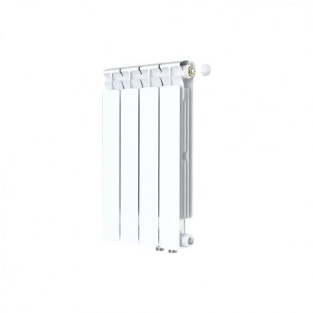 Биметаллический радиатор Rifar Alp Ventil 500 (4 секции, нижнее правое подключение)