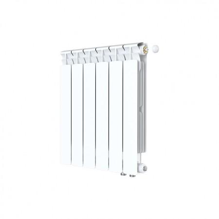 Биметаллический радиатор Rifar Alp Ventil 500 (5 секций, нижнее правое подключение)