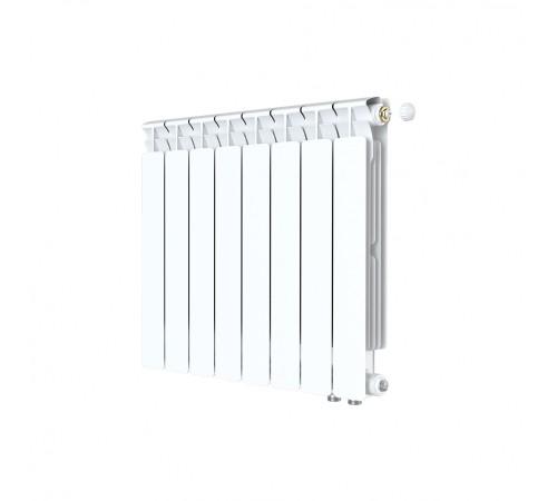 Биметаллический радиатор Rifar Alp Ventil 500 (7 секций, нижнее правое подключение)