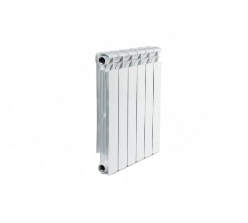 Алюминиевый радиатор Rifar Alum 350 (6 секций, боковое подключение)