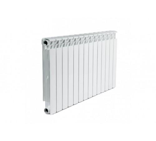 Алюминиевый радиатор Rifar Alum 500 (14 секций, боковое подключение)