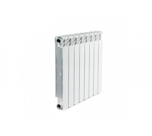 Алюминиевый радиатор Rifar Alum 500 (8 секций, боковое подключение)
