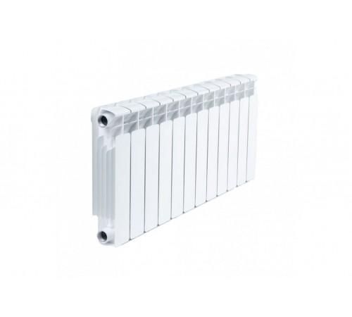 Биметаллический радиатор Rifar Base 500 (12 секций, боковое подключение)