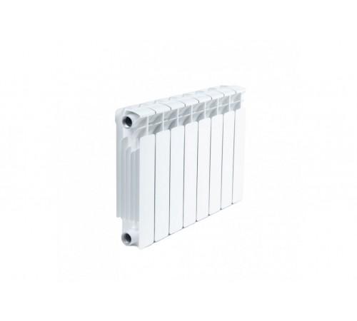 Биметаллический радиатор Rifar Base 500 (8 секций, боковое подключение)