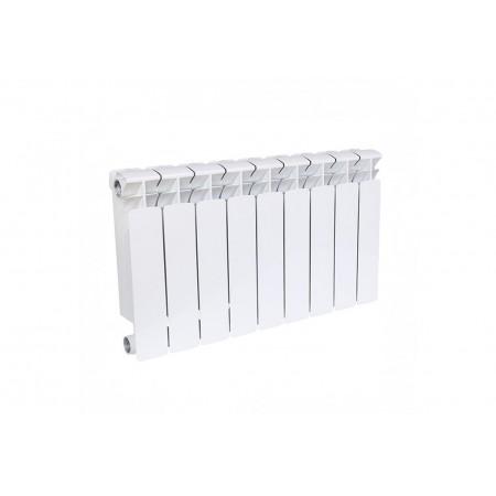 Биметаллический радиатор Rifar Base 500 (9 секций, боковое подключение)