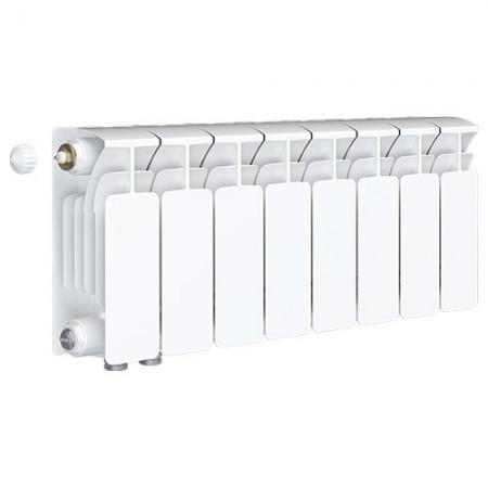 Биметаллический радиатор Rifar Base Ventil 200 (8 секций, нижнее левое подключение)