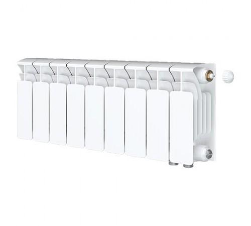Биметаллический радиатор Rifar Base Ventil 200 (9 секций, нижнее правое подключение)