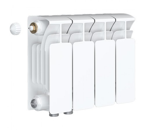 Биметаллический радиатор Rifar Base Ventil 350 (2 секции, нижнее левое подключение)