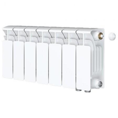 Биметаллический радиатор Rifar Base Ventil 350  (7 секций, нижнее правое подключение)