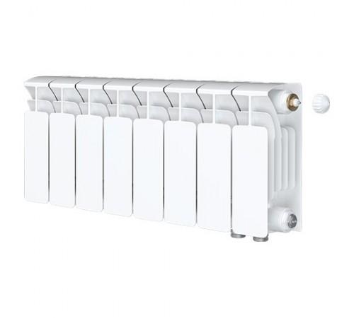 Биметаллический радиатор Rifar Base Ventil 350 (8 секций, нижнее правое подключение)