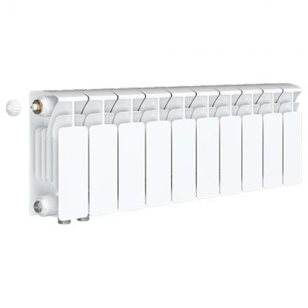 Биметаллический радиатор Rifar Base Ventil 500 (10 секций, нижнее левое подключение)