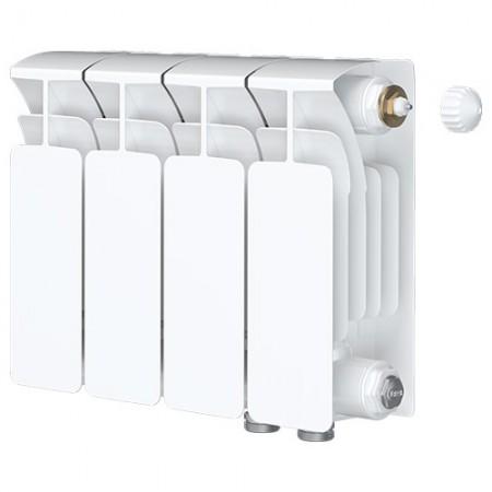 Биметаллический радиатор Rifar Base Ventil 500 (4 секции, нижнее правое подключение)