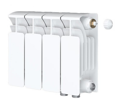 Биметаллический радиатор Rifar Base Ventil 500 (2 секции, нижнее правое подключение)
