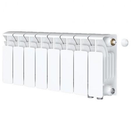 Биметаллический радиатор Rifar Base Ventil 500 (8 секций, нижнее правое подключение)