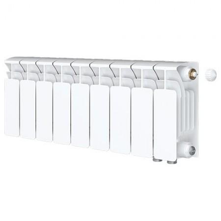 Биметаллический радиатор Rifar Base Ventil 500 (9 секций, нижнее правое подключение)