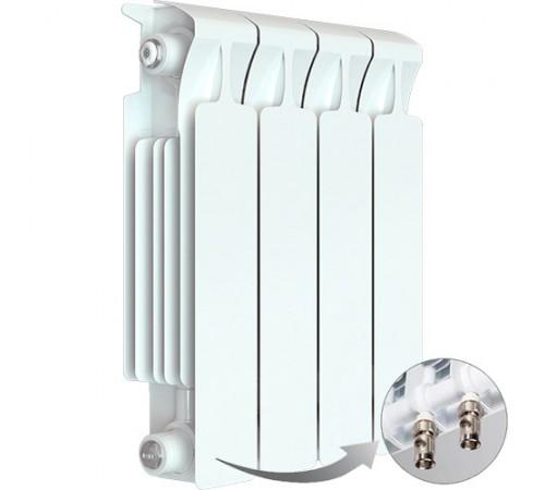 Биметаллический радиатор Rifar Monolit Ventil 350 (3 секции, нижнее правое подключение)