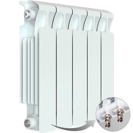 Биметаллический радиатор Rifar Monolit Ventil 350 (5 секций, нижнее правое подключение)