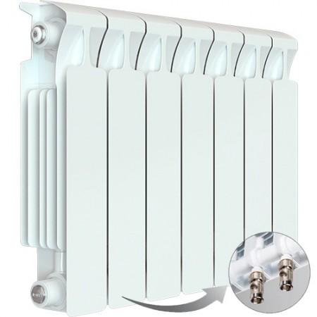 Биметаллический радиатор Rifar Monolit Ventil 350 (7 секций, нижнее правое подключение)