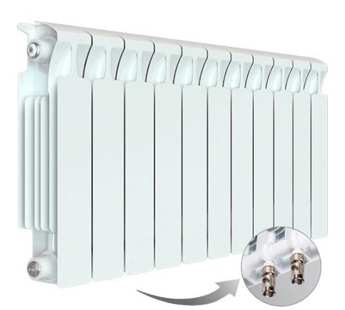 Биметаллический радиатор Rifar Monolit Ventil 500 (11 секций, нижнее правое подключение)