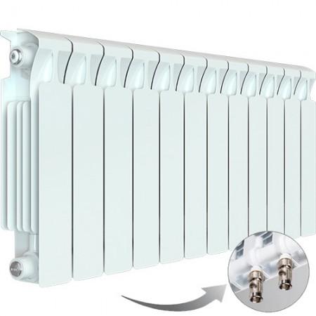 Биметаллический радиатор Rifar Monolit Ventil 500 (12 секций, нижнее левое подключение)