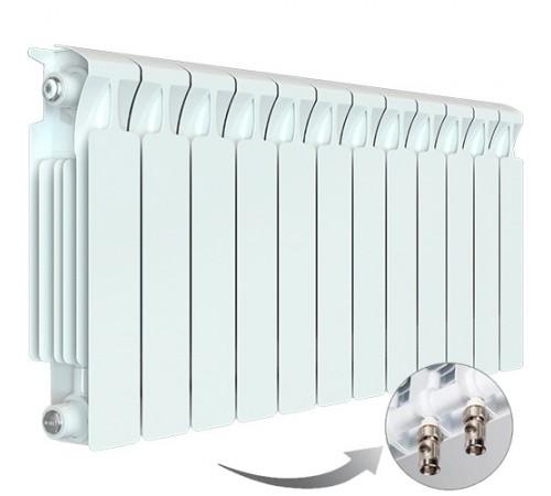 Биметаллический радиатор Rifar Monolit Ventil 500 (12 секций, нижнее правое подключение)
