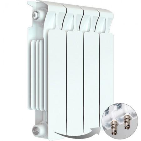 Биметаллический радиатор Rifar Monolit Ventil 500 (4 секции, нижнее правое подключение)