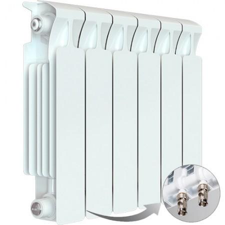 Биметаллический радиатор Rifar Monolit Ventil 500 (6 секций, нижнее левое подключение)