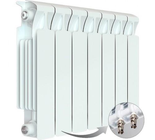 Биметаллический радиатор Rifar Monolit Ventil 500 (7 секций, нижнее правое подключение)