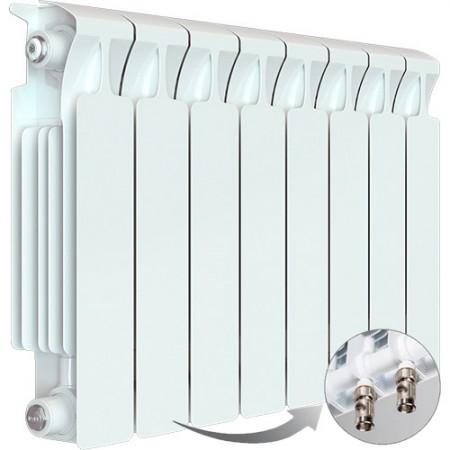 Биметаллический радиатор Rifar Monolit Ventil 500 (8 секций, нижнее правое подключение)