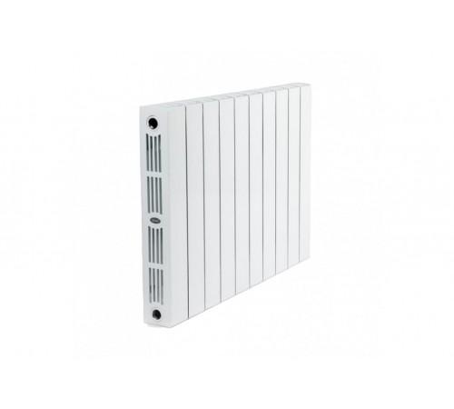 Биметаллический радиатор Rifar SUPReMO 800 (9 секций, боковое подключение)