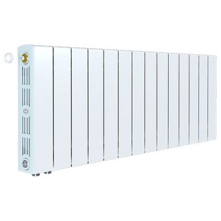 Биметаллический радиатор Rifar SUPReMO 350 Ventil (13 секций, нижнее левое подключение)