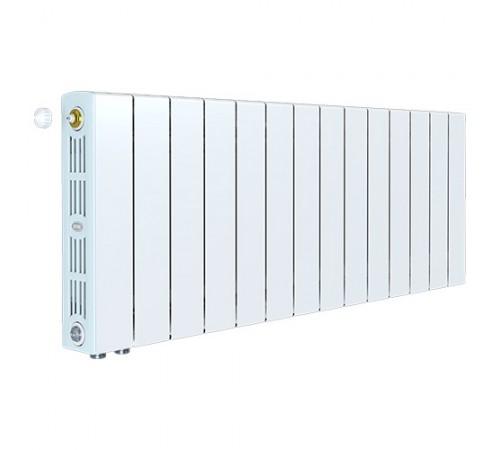 Биметаллический радиатор Rifar SUPReMO 350 Ventil (14 секций, нижнее левое подключение)