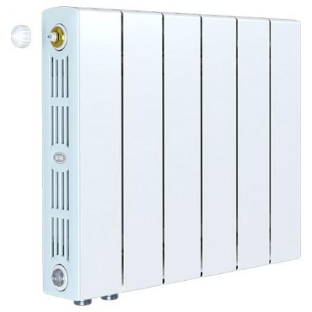 Биметаллический радиатор Rifar SUPReMO 350 Ventil (6 секций, нижнее левое подключение)