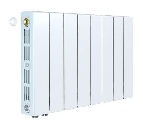 Биметаллический радиатор Rifar SUPReMO 350 Ventil (8 секций, нижнее левое подключение)
