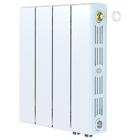 Биметаллический радиатор Rifar SUPReMO 500 Ventil (4 секции, нижнее правое подключение)