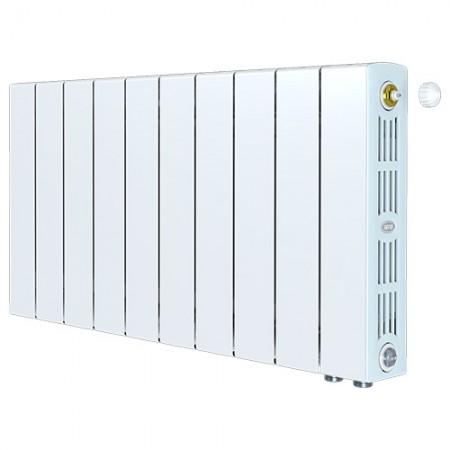 Биметаллический радиатор Rifar SUPReMO 500 Ventil (9 секций, нижнее правое подключение)